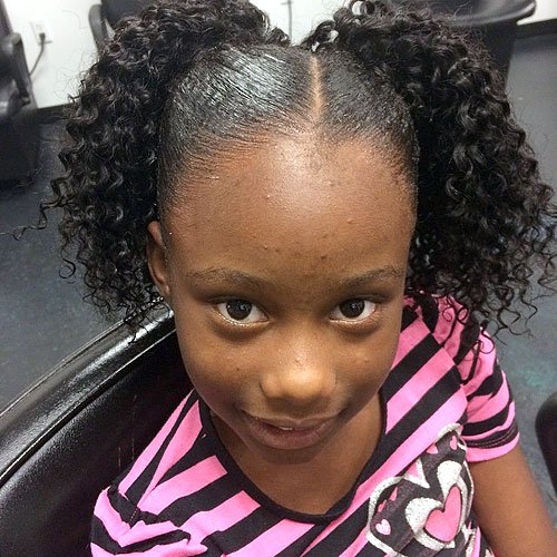 Outstanding Black Girls Hairstyles And Haircuts Cheap Little Girls Dress Up Hairstyles For Men Maxibearus