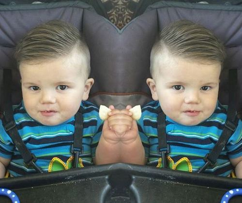 side part hairstyle for baby boys