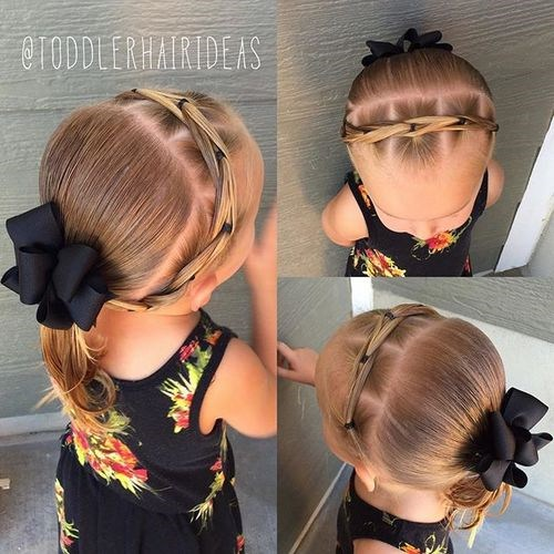black toddler girl hairstyle