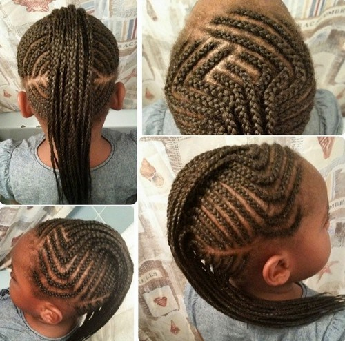 braided mohawk for kids