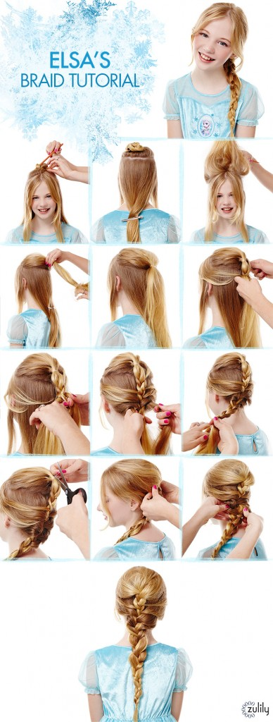 Frozen: Elsa's Braid How To Guide
