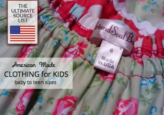 06c93dbe Children'clothing produced in The USA: the ultimate source list ...