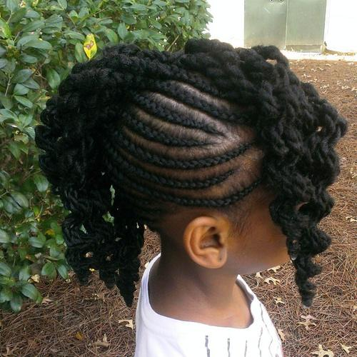 Groovy Braids For Kids 40 Splendid Braid Styles For Girls Cheap Natural Hairstyles Runnerswayorg