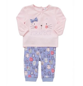 F&F Kitty Pyjamas-1