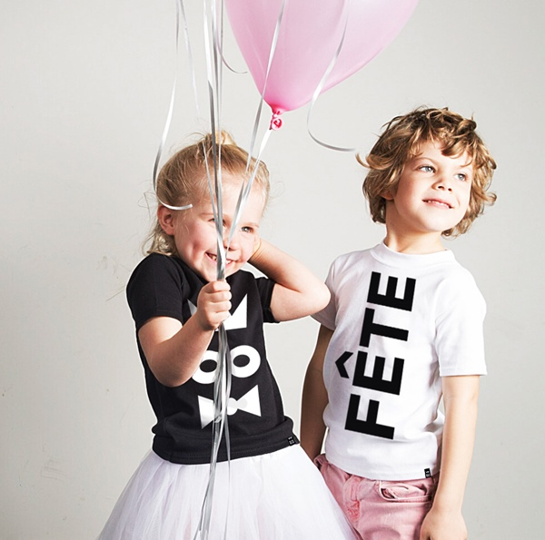 Monochrome Apparel and Timeless Graphics For Boys and Girls